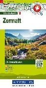 Cover-Bild zu Hallwag Kümmerly+Frey AG (Hrsg.): Zermatt Nr. 13 Touren-Wanderkarte 1:50 000. 1:50'000