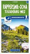 Cover-Bild zu Hallwag Kümmerly+Frey AG (Hrsg.): Rapperswil-Jona, Toggenburg West Nr. 14 Wanderkarte 1:40 000. 1:40'000