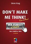 Cover-Bild zu Don't make me think! von Krug, Steve