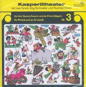 Cover-Bild zu Torelli, Ines (Gelesen): De bös Zwerg Zwack und de Prinz Magerli / De Pfnüsi und sis Krokodil