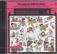 Cover-Bild zu Torelli, Ines (Gelesen): D Zauberhööli im Häxewald / Die gschtole Schatzschischte