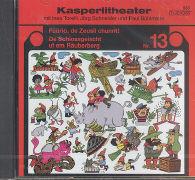 Cover-Bild zu Torelli, Ines (Gelesen): Füürio, de Zeusli chunnt! / De Schlossgeischt uf em Räuberberg