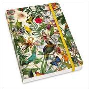 Cover-Bild zu DUMONT Kalenderverlag (Hrsg.): Notizbuch Floral - Archive Design - Format DIN A5