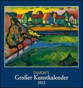 Cover-Bild zu DUMONT Kalender (Hrsg.): DUMONTS Großer Kunstkalender 2022 - Klassische Moderne, Impressionisten, Expressionisten - Wandkalender Format 45 x 48 cm