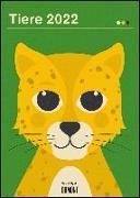 Cover-Bild zu Ryski, Dawid (Illustr.): Dawid Ryski: Tiere 2022 - Kinder-Kalender - Poster-Format 50 x 70 cm