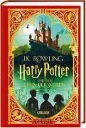 Cover-Bild zu Rowling, J.K.: Harry Potter und der Stein der Weisen: MinaLima-Ausgabe (Harry Potter 1)