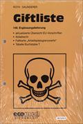 Cover-Bild zu 148. Ergänzungslieferung - Giftliste