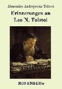 Cover-Bild zu Erinnerungen an Leo N. Tolstoi von Tolstoi, Alexandra Andrejewna