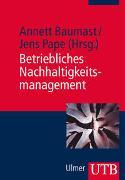 Cover-Bild zu Baumast, Annett: Betriebliches Nachhaltigkeitsmanagement
