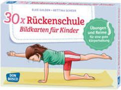 Cover-Bild zu 30 x Rückenschule. Bildkarten für Kinder von Gulden, Elke