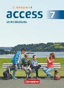 Cover-Bild zu Access, Englisch als 2. Fremdsprache, Band 2, Schülerbuch - Lehrerfassung von Eberhard, Dominik