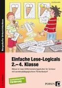 Cover-Bild zu Einfache Lese-Logicals - 2.-4. Klasse von Rosendahl, Julia