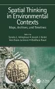 Cover-Bild zu Spatial Thinking in Environmental Contexts (eBook) von Arlinghaus, Sandra Lach (Hrsg.)