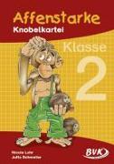 Cover-Bild zu Affenstarke Knobelkartei 2 von Lohr, Nicole