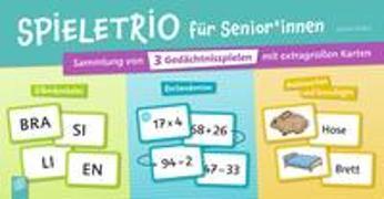 Cover-Bild zu Spieletrio für Senioren und Seniorinnen von Kelkel, Sabine