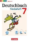 Cover-Bild zu Deutschbuch Gymnasium, Fördermaterial, 7. Schuljahr, Förderheft von Frickel, Daniela A.