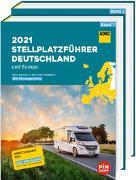 Cover-Bild zu ADAC Stellplatzführer 2021 Deutschland und Europa