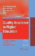 Cover-Bild zu Rosa, Maria Joao (Hrsg.): Quality Assurance in Higher Education (eBook)