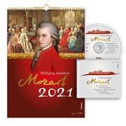 Cover-Bild zu Wolfgang Amadeus Mozart 2021 von Heckl, Stefanie (Zusammengest.)
