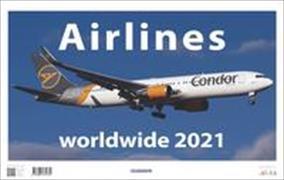 Cover-Bild zu Airlines worldwide 2021