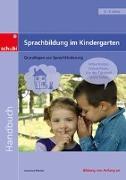 Cover-Bild zu Sprachbildung im Kindergarten. Handbuch von Merkel, Johannes