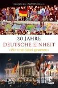 Cover-Bild zu 30 Jahre Deutsche Einheit von Hörmann, Alfons