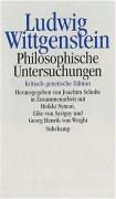 Cover-Bild zu Philosophische Untersuchungen von Wittgenstein, Ludwig