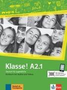 Cover-Bild zu Klasse! A2.1. Kursbuch mit Audios und Videos online von Fleer, Sarah