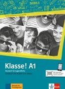 Cover-Bild zu Klasse! A1. Kursbuch mit Audios und Videos online von Fleer, Sarah