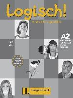Cover-Bild zu Logisch! A2 - Arbeitsbuch A2 mit Audio-CD und Vokabeltrainer CD-ROM von Schurig, Cordula