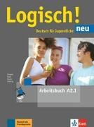 Cover-Bild zu Logisch! neu A2.1. Arbeitsbuch mit Audio-Dateien zum Download von Dengler, Stefanie