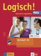 Cover-Bild zu Logisch! Neu A2 - Kursbuch mit Audio-Dateien zum Download von Dengler, Stefanie