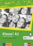 Cover-Bild zu Klasse! A2. Kursbuch mit Audios und Videos von Fleer, Sarah