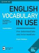 Cover-Bild zu English Vocabulary in Use. Fourth Edition. Pre-intermediate and Intermediate. Book with answers and Enhanced ebook