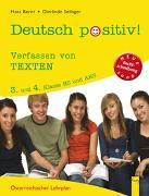 Cover-Bild zu Deutsch positiv! 3/4 Verfassen von Texten von Bernt, Hans