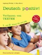 Cover-Bild zu Deutsch positiv! 1/2 Verfassen von Texten von Bernt, Hans