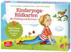 Cover-Bild zu Kinderyoga-Bildkarten für Frühling und Sommer von Gulden, Elke