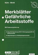Cover-Bild zu 358. Ergänzungslieferung - Merkblätter gefährliche Arbeitsstoffe