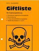 Cover-Bild zu 163. Ergänzungslieferung - Giftliste