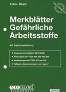 Cover-Bild zu 365. Ergänzungslieferung - Merkblätter gefährliche Arbeitsstoffe