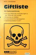 Cover-Bild zu 164. Ergänzungslieferung - Giftliste