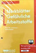 Cover-Bild zu 146. Ergänzungslieferung (Relaunch) - Merkblätter Gefährliche Arbeitsstoffe