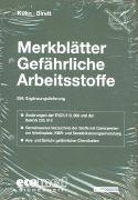 Cover-Bild zu 258. Ergänzungslieferung - Merkblätter gefährliche Arbeitsstoffe