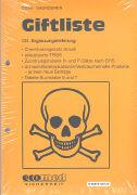 Cover-Bild zu 131. Ergänzungslieferung - Giftliste
