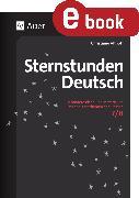 Cover-Bild zu Sternstunden Deutsch 7-8 (eBook) von Althoff, Christiane