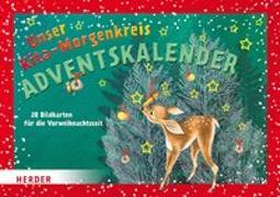 Cover-Bild zu Unser Kita-Morgenkreis Adventskalender von Bläsius, Jutta