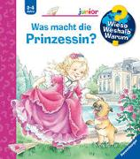 Cover-Bild zu Was macht die Prinzessin? von Erne, Andrea