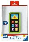 Cover-Bild zu Ravensburger ministeps 4163 Mein erstes Smart-Phone, Spielzeugtelefon, Lernspielzeug mit Licht und Sound ab 9 Monaten