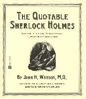 Cover-Bild zu Watson, John H.: The Quotable Sherlock Holmes (eBook)