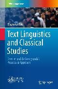 Cover-Bild zu Text Linguistics and Classical Studies (eBook) von Giuffrè, Mauro